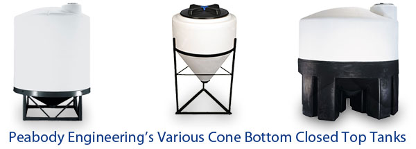 Cone Bottom Close Top Tanks