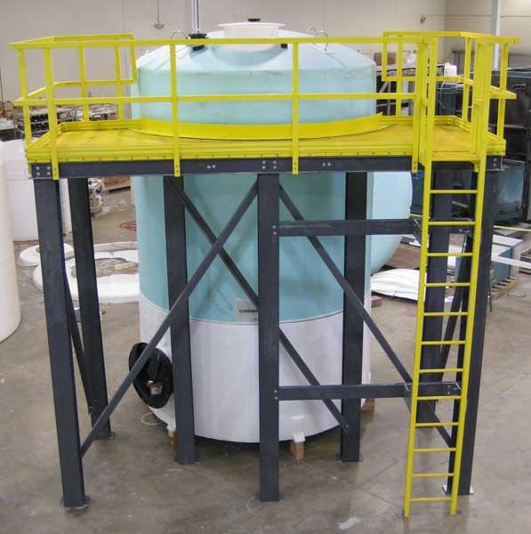 Peabody Engineering Fiberglass Ladders Handrails And