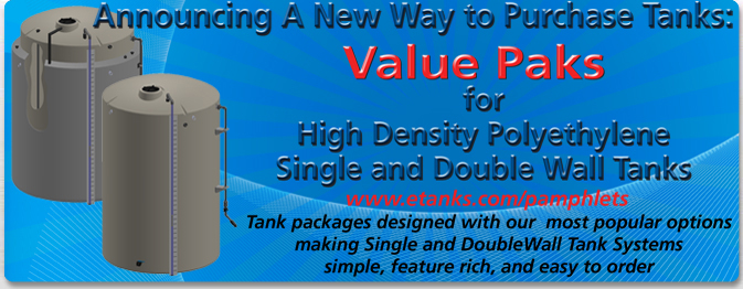 Double Wall Tank Value Paks