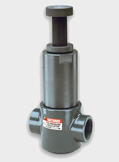 1 pvc pressure regulator valves threaded pr10100t. Black Bedroom Furniture Sets. Home Design Ideas